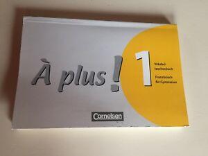 À plus! 1 Französisch für Gymnasien Vokabeltaschenbuch ISBN 978-3-464-22099-3