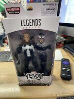 "Marvel Legends EDDIE BROCK VENOM 6"" Action Figure w/ BAF Monster Venom Leg"