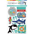 Photoplay  FISH TALES  Chipboard Shapes