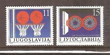 YUGOSLAVIA # 2104-2105 MNH BASKETBALL CENTENNIAL