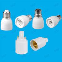 B22 / E27 to G24 or G24 to E27 Light Bulb Socket Lamp Adaptor / Fitting Holder