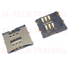 NUOVO 2 x Genuine iPhone 4 4g INTERNO MICRO SIM CARD READER SLOT Connettore Parte