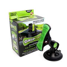 GripGo Short Shank As Seen On TV Universal Car Phone Mount Hands Free Black