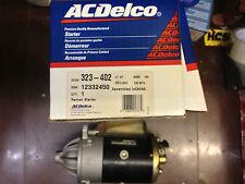 NOS 323-402 ACDelco Rebuilt Starter 12332450 Bronco Econoline Thunderbird Mark