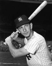 1955 New York Yankees BILLY MARTIN Glossy 8x10 Photo Baseball Print Poster