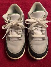 Boys Jordan 3 Retro (PS) No. 429487-006 LT Grey/Black/White Preowned Size 11C #4