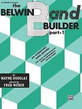 NEW Belwin Band Builder, Part 1: B-Flat Cornet (Trumpet) by Wayne Douglas
