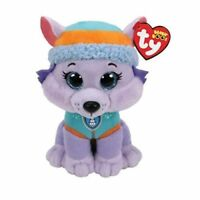 "TY Beanie Boos 6"" Paw Patrol EVEREST Husky Dog Plush Stuffed Animal MWMT's Tags"