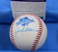 Jack Morris Psa Dna Coa Autograph 1991 World Series Signed Baseball