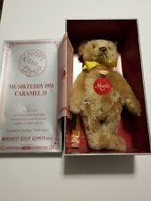 1993 LIMITED EDITION Steiff Caramel 1951 Musical Music Teddy Bear 275/7000
