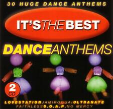 *  (90's) ITS THE BEST DANCE ANTHEMS / VARIOUS ARTISTS - 2 CD SET