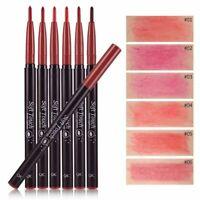 durée imperméables à l'eau gloss crayon rouge à lèvres outil de maquillage