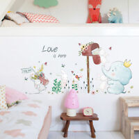 Mouse Hole Vinyl Mural Wall Art Sticker Decal Kids Nursery Room Home DecorBRJBVG