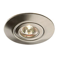 SAXBY CONVERSE Low Voltage to 240V GU10 Recessed Downlight Converter 65mm-125mm