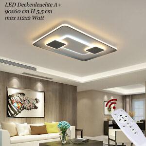 LED Deckenlampe 899 Lichtfarbe Helligkeit einstellbar Deckenleuchte Fernbedienun