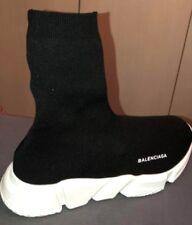Balenciaga Speed Knit Sneaker (Long Sock) Black / White size 42 EU - 8 UK