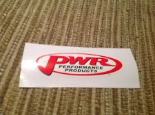 PWR V8 SUPERCARS DRAG RACING  STICKER, HOLDEN FORD TOYOTA   MAZDA HONDA KTM