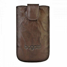 Bugatti Universal Handy Leder Tasche Hülle Cover mit Easy Out Unique Tobacco SL