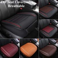 Universal Car Seat Cover PU Leather Breathable Pad Mat Chair Cushion Protector