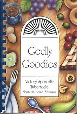 MOUNTAIN HOME AR 2004 VICTORY APOSTOLIC TABERNACLE CHURCH COOKBOOK GODLY GOODIES