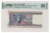 ITALY banknote 50.000 Lire 1978 PMG MS 65 EPQ Superb Gem Uncirculated