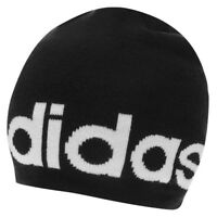 Adidas Néo LOGO bonnet bonnet D'hiver tricoté taille unique NEUF