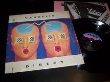 """Vangelis """"Direct"""" LP inner Arista – AL 8545 Usa 1988"""
