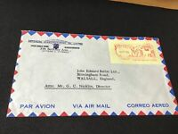 Ottawa Canada 1961 meter mail stamps cover Ref R28761
