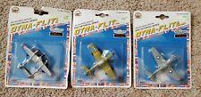 Dyna-Flites Die Cast Metal Airplanes Wwii Historical Series P-40 P-38 P-51 Lot 3