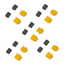 Amass XT60+ Male Female Connector Plug for Battery ESC and Charge Lead 5 Pair