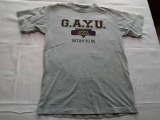 Vintage Gay University G.A.Y.U. T-Shirt Size M LGBT Wear to be