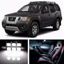 11pcs LED Xenon White Light Interior Package Kit for Nissan Xterra 2005-2014