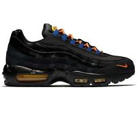 Nike Air Max 95 Premium LA vs NYC Black Rush Blue Brilliant Orange AT8505-001