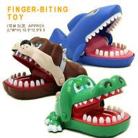 Dinosaur/Shark/Evil Dog Biting Finger Mouth Snaps Crocodile Teeth Game Kids Toy