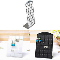 Earrings Ear Studs Jewelry Show Display Rack Acrylic Stand Holder Show Case