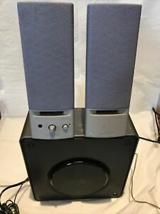 Sony Vaio Computer PC Speaker System PCVA-SP2 - Subwoofer Included