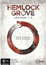 Hemlock Grove : Season 1-3 (DVD, 2016, 10-Disc Set)**R4**Terrific Condition*