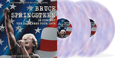 """Bruce Springsteen 'The Darkness Tour' New 2 x 10"""" Red White Blue Vinyl IN STOCK"""