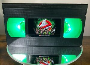 💎Ghostbusters The Video Game Retro VHS Light + Remote💎