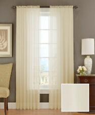 """Vue By Ellery Textured Chiffon Ivory 95"""" Panel"""