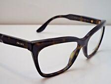 Authentic PRADA VPR24S 2AU-1O1 Tortoise Eyeglass DEMO Frame Dummy Lenses $353