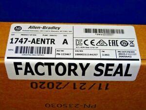 2021 FACTORY SEALED Allen Bradley 1747-AENTR /A EtherNet/IP Adapter Module