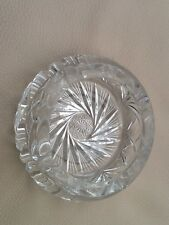 crystal Heavy Cigar ash tray