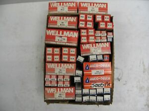 ASSORTED BOX OF 117 WELLMAN,DENSO,AUTODELTA GLOW PLUGS FORD,VW, VOLVO,ROVER,GM