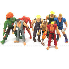 8pcs JAZWARES STREET FIGHTER Collection 4'' ACTION FIGURE Kid Birthday Gift Toy