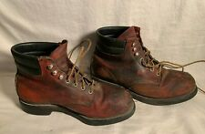RED WING steel toe work boots 2245 ANSI Z41 PT91 M1/75 C/75 Men's size 9 EEE
