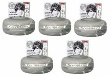 Gatsby Mens Hair Wax Moving Rubber Grey Grunge Mat Japanese Style Grooming 80g