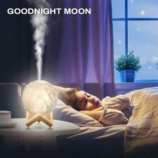 Mist Maker Usb Light Aromatherapy Diffuser 3D Moon Lamp 880mL Aroma Humidifier