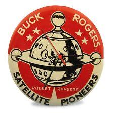 "BUCK ROGERS 1950's sci-fi Retro Kitchen Garage 11.5"" Glass Clock"