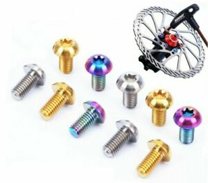 M5 x 10mm Set of 12 Cro-Mo Disc Brake Bolts Colors